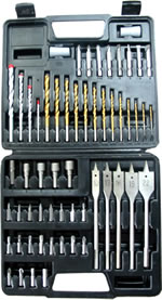 Drill Combination Set 57pce $25.50